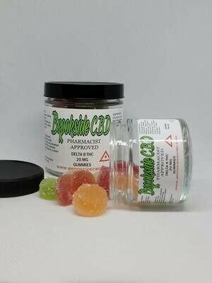 Brookside Delta 8 20mg Gummies