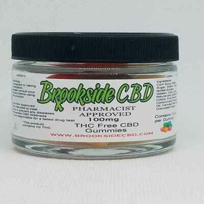Brookside THC Free Gummies 10 Count