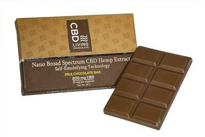 CBD Living Chocolate Bar 200 Mg
