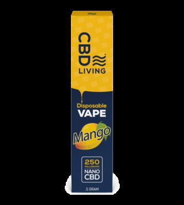 CBD Living 250mg Disposable Vape Pen