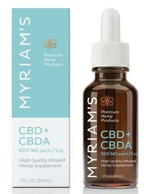Myriam's Specialty Cannabinoid Oils