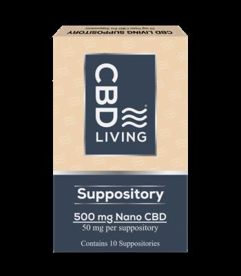 CBD Living Suppository 50 mg