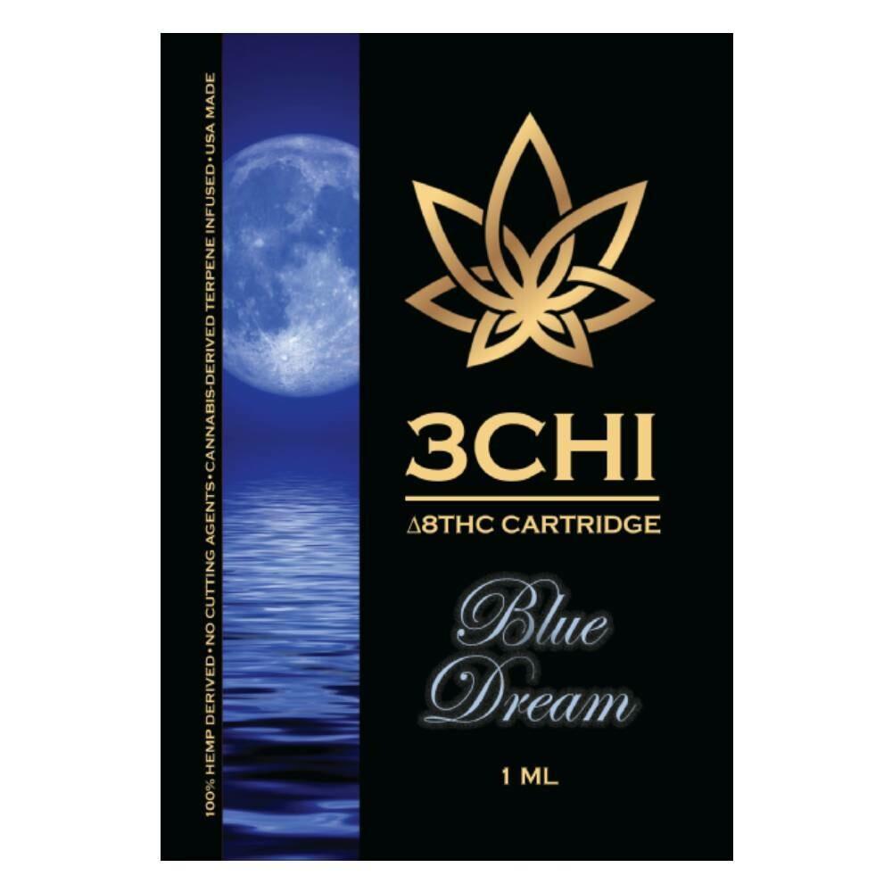 3 CHI Delta 8 THC Vape Cartridge