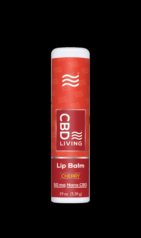 CBD Living Lip Balm 50 MG Broad Spectrum