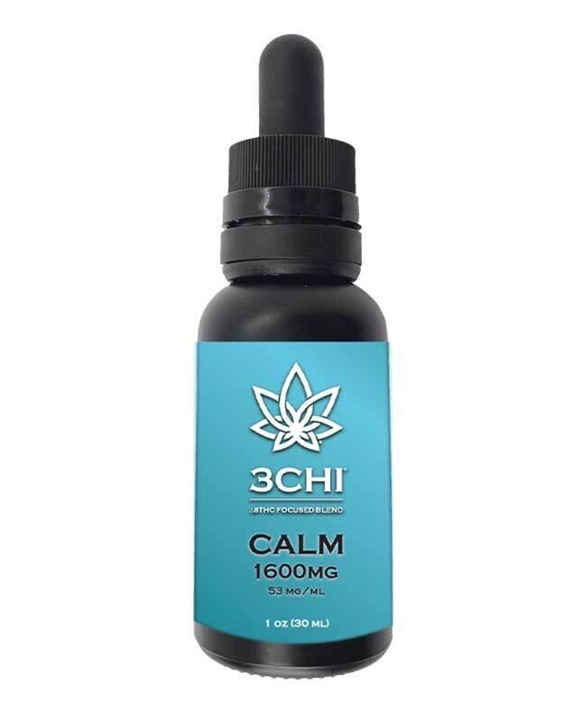 3 CHI Delta 8 Focused Blend – Calm Oil Tincture