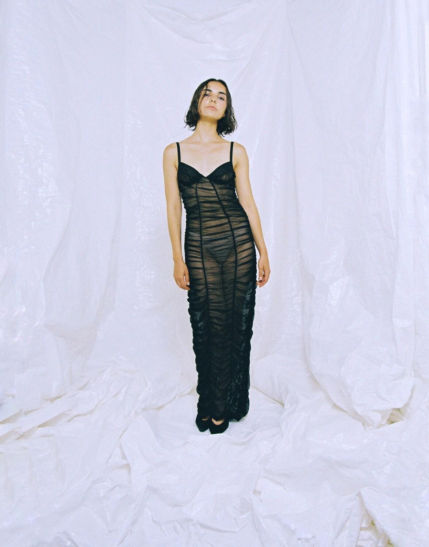 PATRY DRESS BLACK