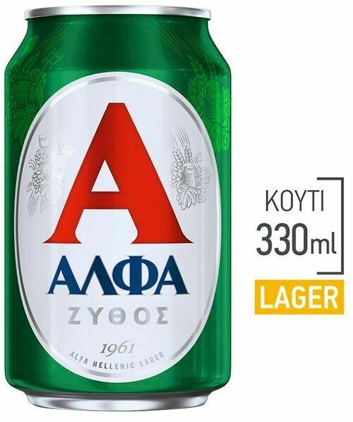 ΑΛΦΑ 330ml ΜΠΥΡΑ ΚΟΥΤΙ