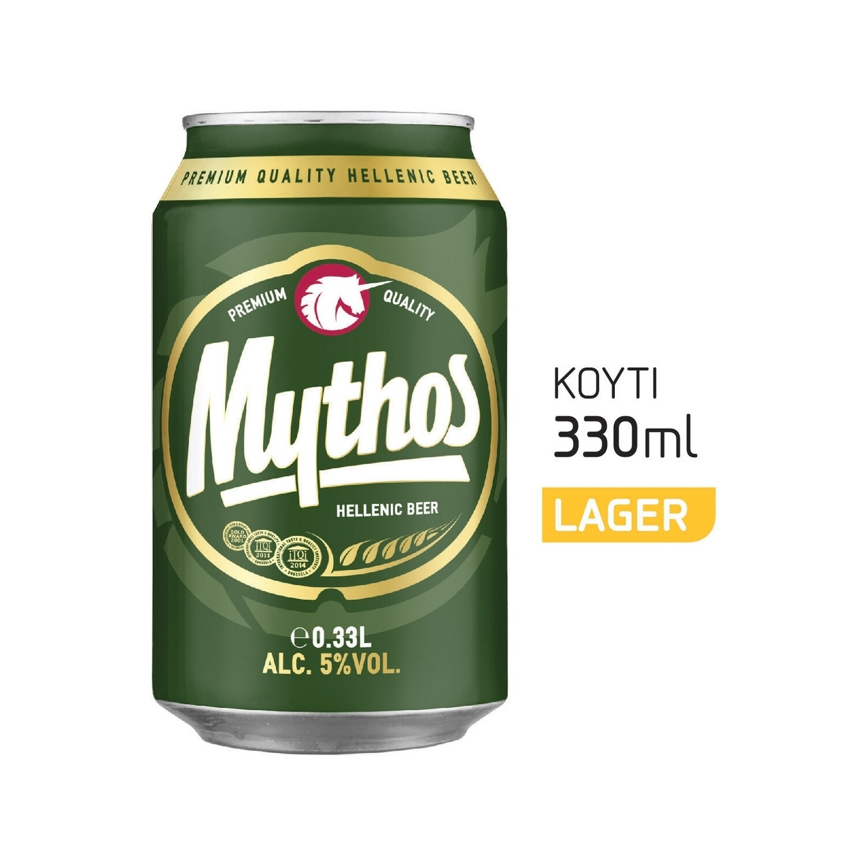 MYTHOS  330ml ΜΠΥΡΑ ΚΟΥΤΙ