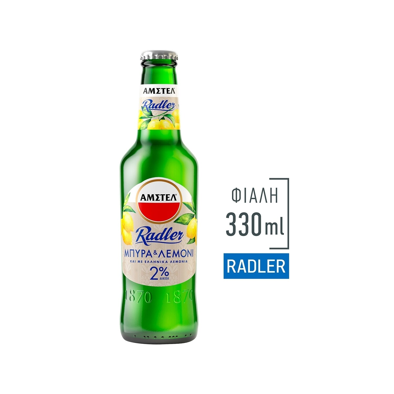 ΑΜΣΤΕΛ 330ml ΜΠΥΡΑ RADLER ΦΙΑΛΗ