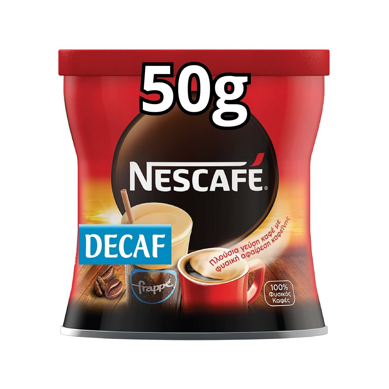NESCAFE 50gr ΣΤΙΓΜΙΑΙΟΣ DECAFEINE