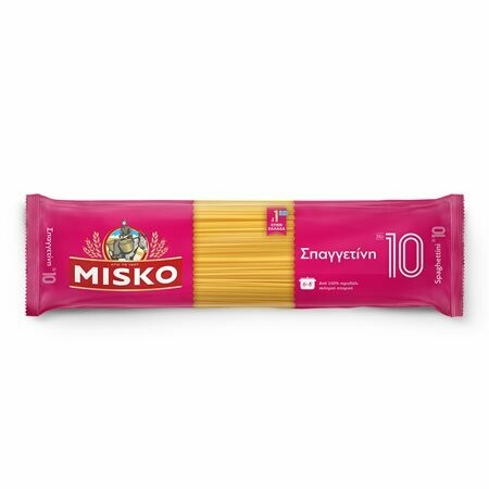 MISKO 500gr ΜΑΚΑΡΟΝΙΑ SPAGHETTI No 10