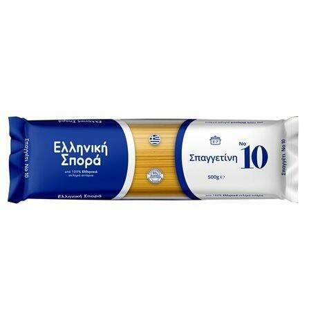 ΕΛΛΗΝΙΚΗ ΣΠΟΡΑ 500gr ΣΠΑΓΓΕΤΙΝΙ  No10