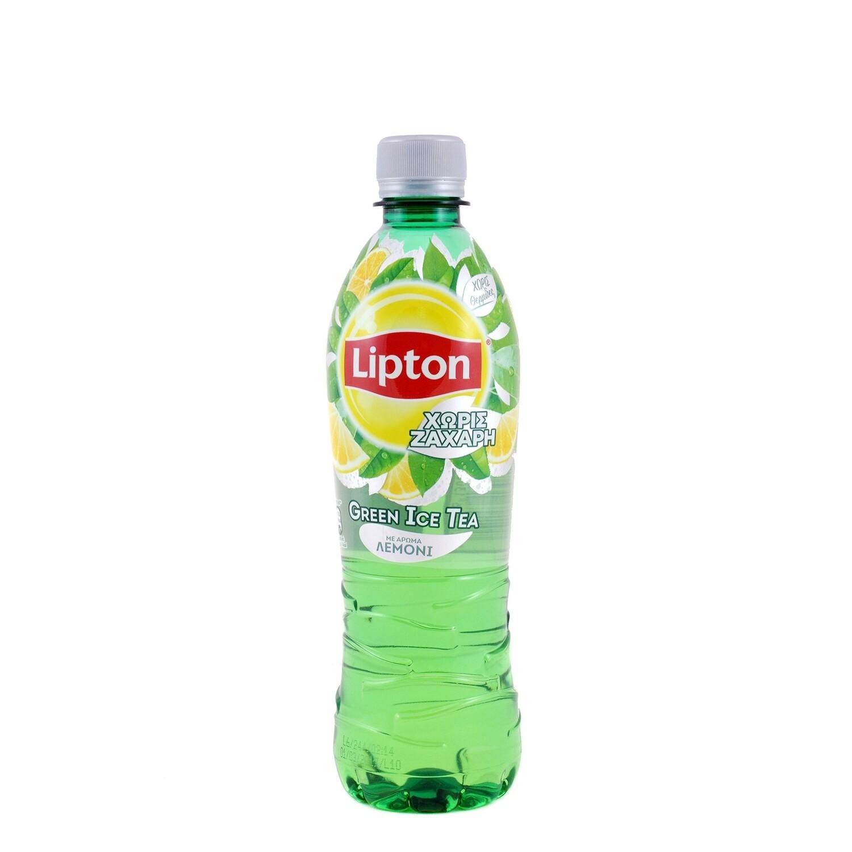 LIPTON 500ml ICE TEA ΠΡΑΣΙΝΟ NO SUGAR