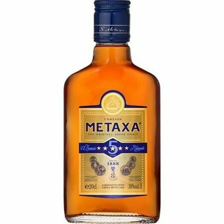 METAXA 20Oml 5* 38% ΑΛΚΟΟΛ