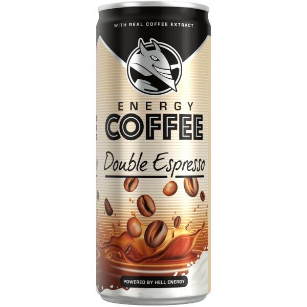 HELL 250ml ENERGY COFFEE DOUBLE ESPRESSO