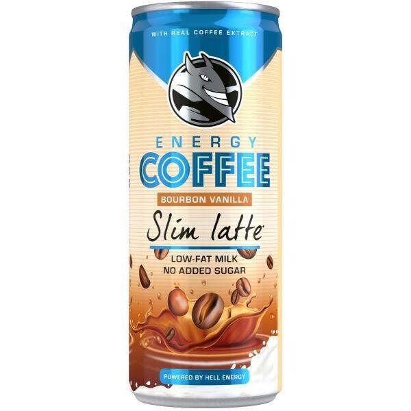 HELL 250ml ENERGY COFFEE SLIM LATTE