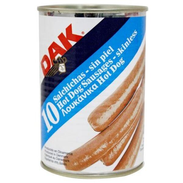 DAK 225gr ΛΟΥΚΑΝΙΚΑ HOT DOG