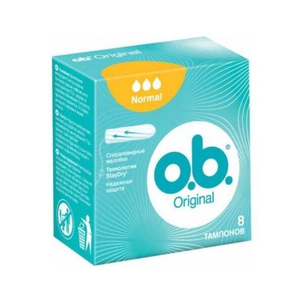 O.B 8-ΤΕΜ TAMPONS ORIGINAL NORMAL