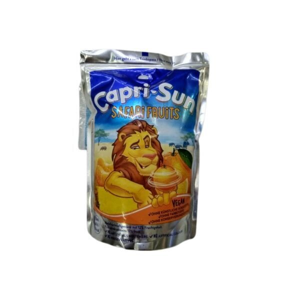 CAPRI SUN 200ml SAFARI FRUITS VEGAN