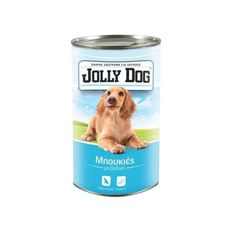 JOLLY DOG 1250gr ΖΩΟΤΡΟΦΗ ΣΚΥΛΟΥ ΜΠΟΥΚΙΕΣ ΜΕ ΒΟΔΙΝΟ