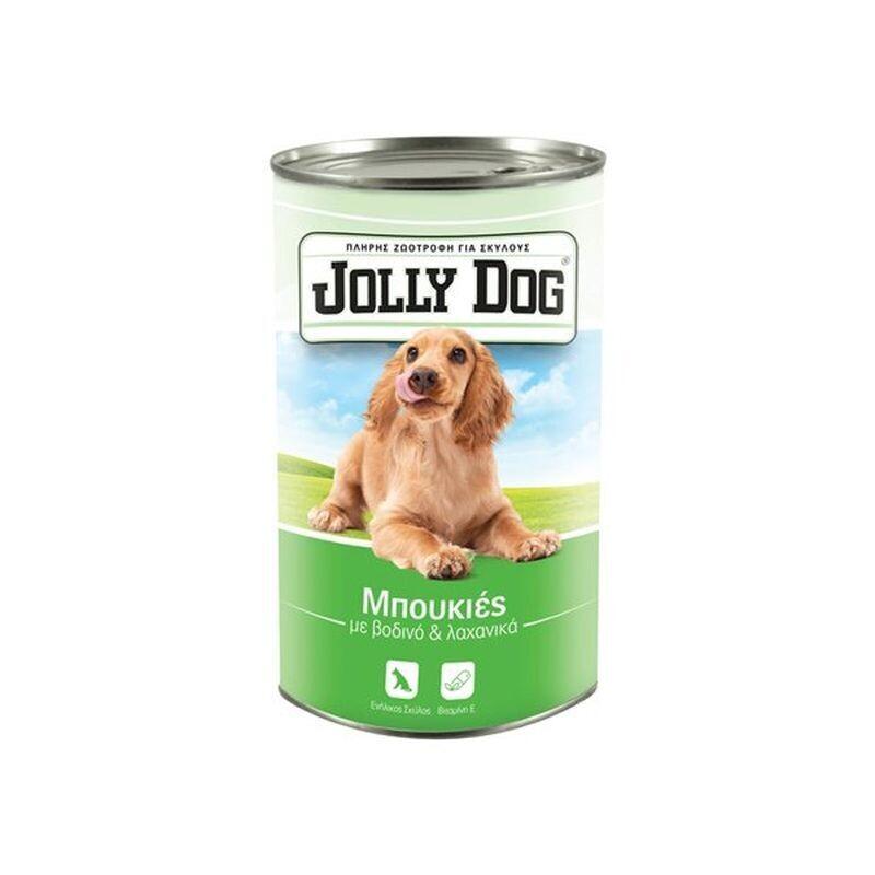 JOLLY DOG 1250gr ΖΩΟΤΡΟΦΗ ΣΚΥΛΟΥ ΜΠΟΥΚΙΕΣ ΜΕ ΒΟΔΙΝΟ & ΛΑΧΑΝΙΚΑ