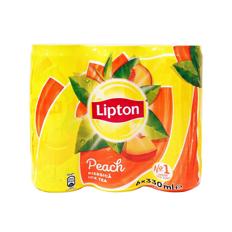 LIPTON 6X330ml ICE TEA ΡΟΔΑΚΙΝΟ