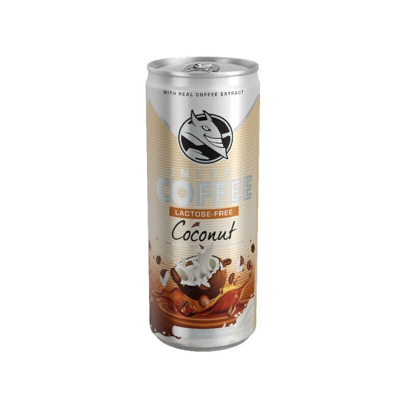 HELL 250ml ENERGY COFFEE COCONUT FREE LACTOSE