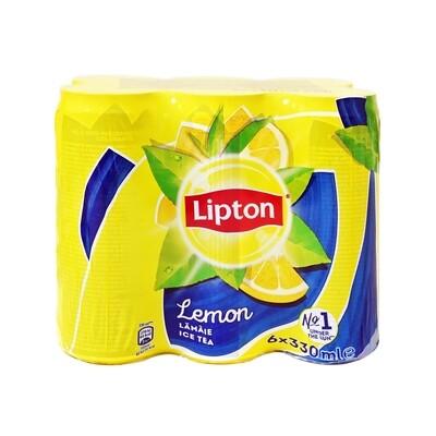 LIPTON 6X330ml ICE TEA LEMON