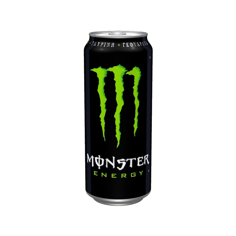 MONSTER 500ml ENERGY DRINK ΜΑΥΡΟ ΠΡΑΣΙΝΟ