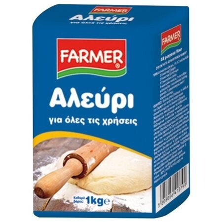 FARMER 1kg ΑΛΕΥΡΙ ΓΙΑ ΟΛΕΣ ΤΙΣ ΧΡΗΣΕΙΣ