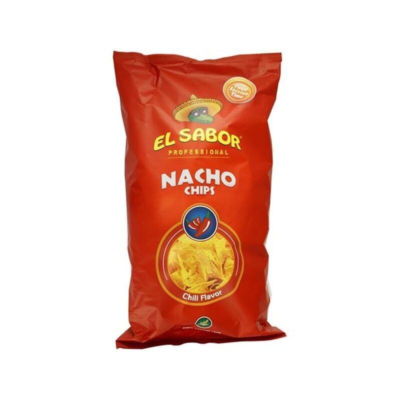 EL SABOR 500gr NACHO CHIPS CHLI