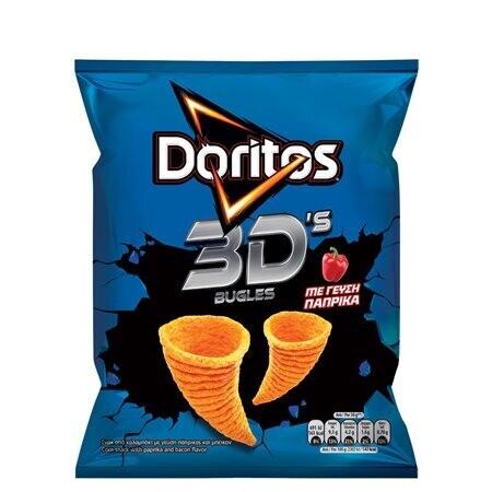 DORITOS 82gr 3D BUGLES ΠΑΠΡΙΚΑ