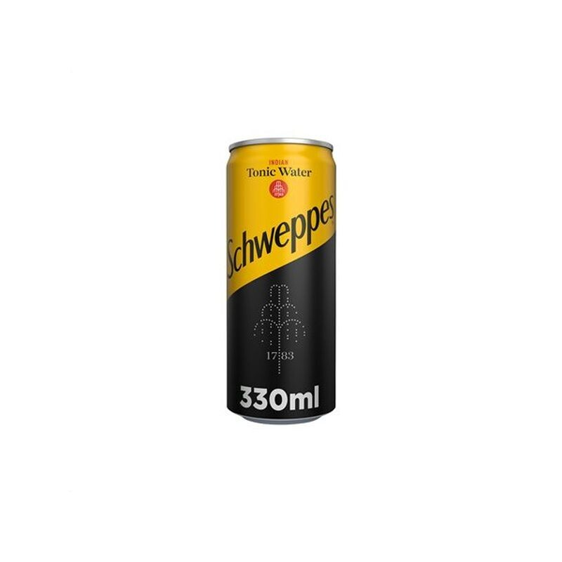 SCHWEPPES 330ml INDIAN TONIC WATER