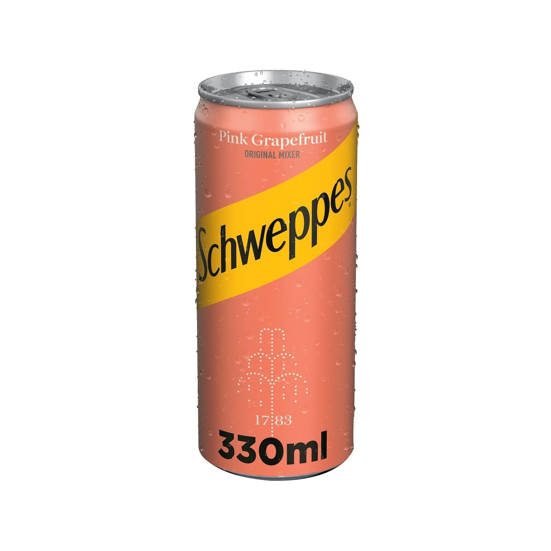 SCHWEPPES 330ml ΑΝΑΨΥΚΤΙΚΟ ΤΟΝΙΚ PINK GRAPEFRUIT