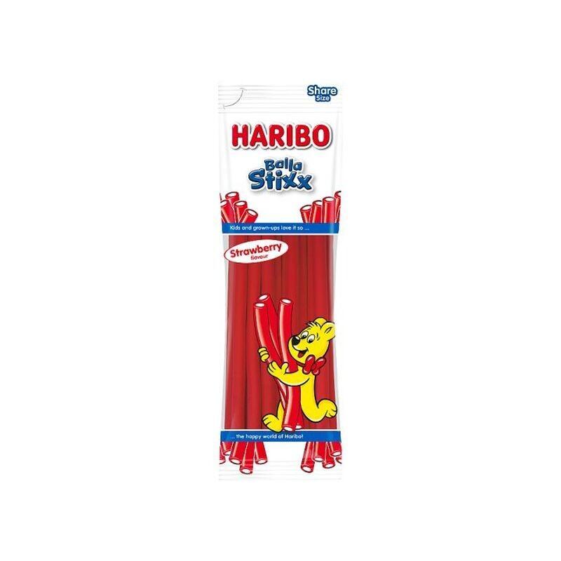HARIBO 200gr BALLA STIXX STRAWBERRY