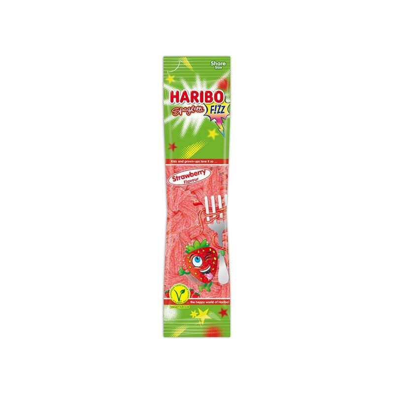 HARIBO 200gr SNUP STRAWBERRY FLAVOUR