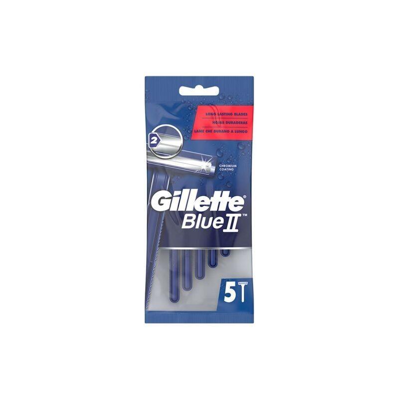 GILLETTE 5-TMX ΞΥΡΑΦΑΚΙΑ ΑΝΤΡΙΚΑ BLUE II FIXED