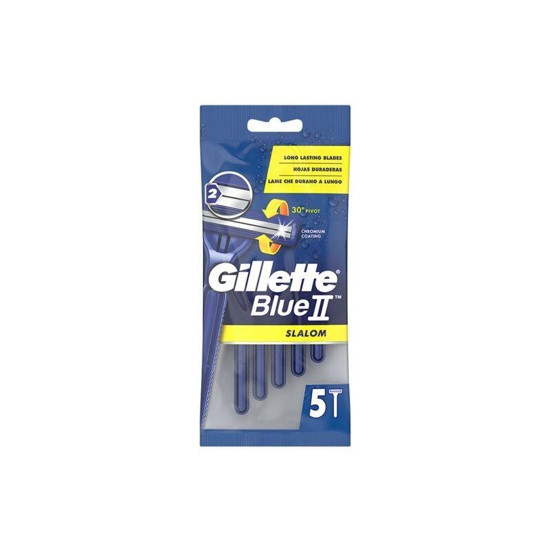 GILLETTE 5-TMX ΞΥΡΑΦΑΚΙΑ ΑΝΤΡΙΚΑ BLUE II SLALOM