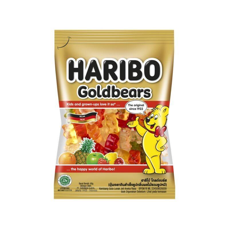 HARIBO 100gr ΚΑΡΑΜΕΛΕΣ ΖΕΛΕΔΑΚΙΑ GOLDBEARS
