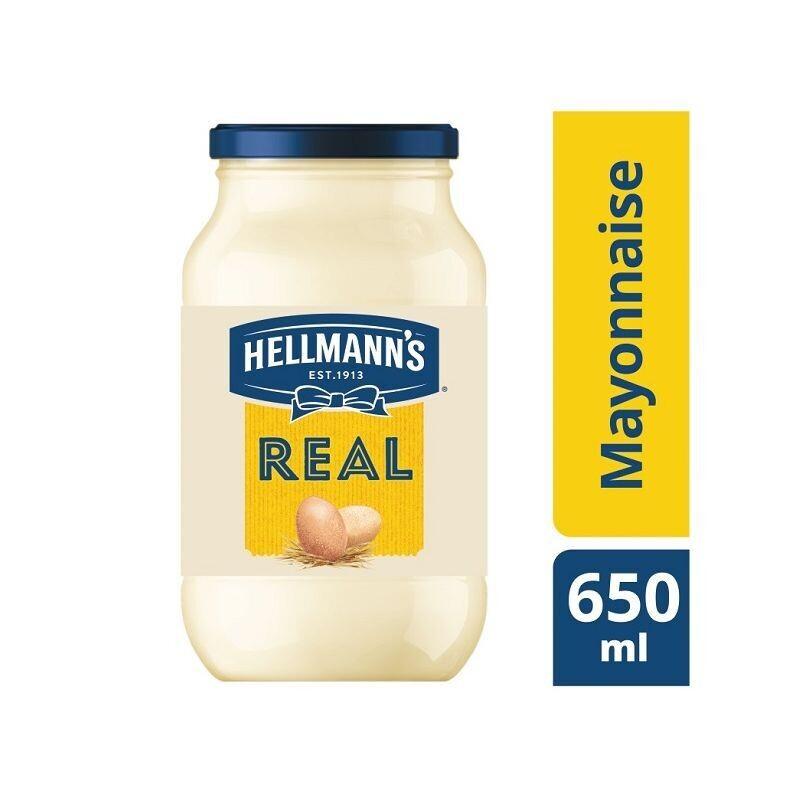 HELLMANN'S  650ml  ΜΑΓΙOΝΕΖΑ REAL
