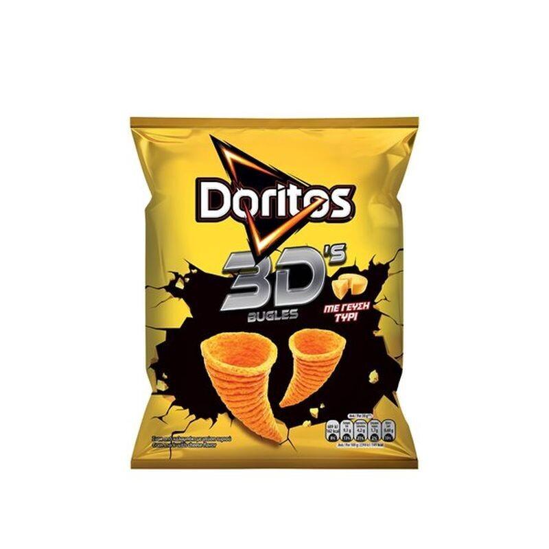 DORITOS 82gr 3D BUGLES ΤΥΡΙ