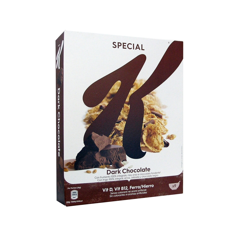 KELLOGG'S 290gr ΔΗΜΗΤΡΙΑΚΑ SPECIAL K DARK CHOCOLATE