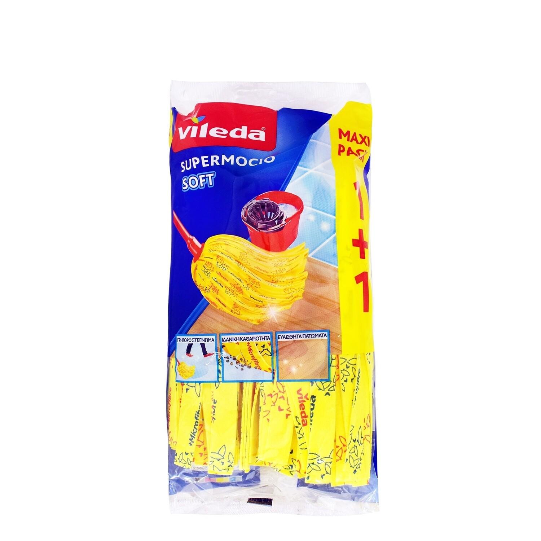 VILEDA 1+1 ΣΦΟΥΓΓΑΡΙΣΤΡΑ SUPER MOCIO SOFT