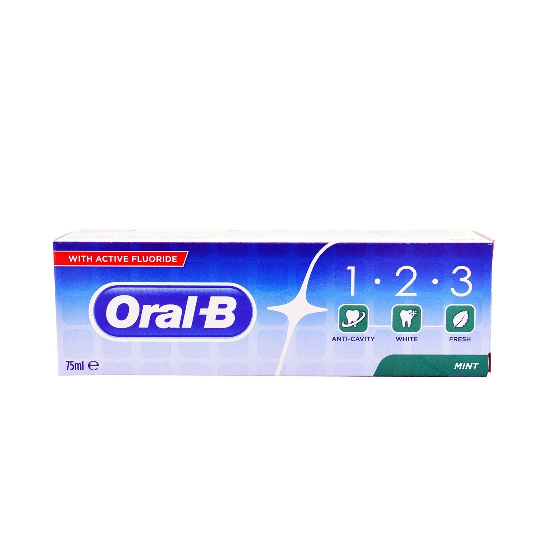 ORAL-B 1-2-3 75ml ΟΔΟΝΤΟΚΡΕΜΑ MINT