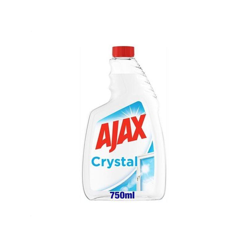AJAX 750ml CRYSTAL CLEAN  ΑΝΤΑΛΛΑΚΤΙΚΟ ΔΙΑΦΑΝΕΣ