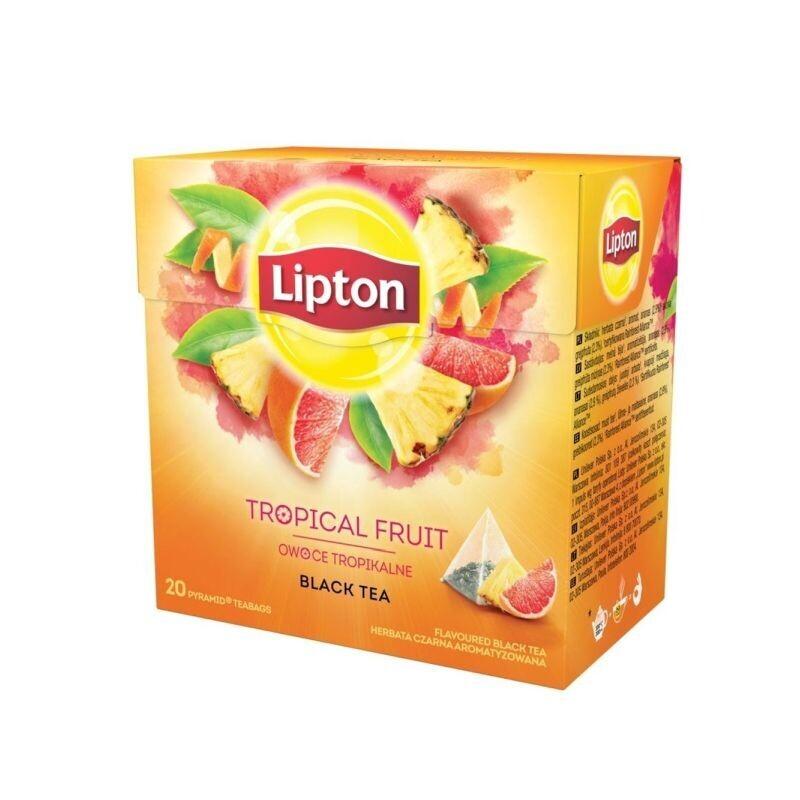 LIPTON 20-Φ BLACK TEA ΦΡΟΥΤΑ TOY ΔΑΣΟΥΣ