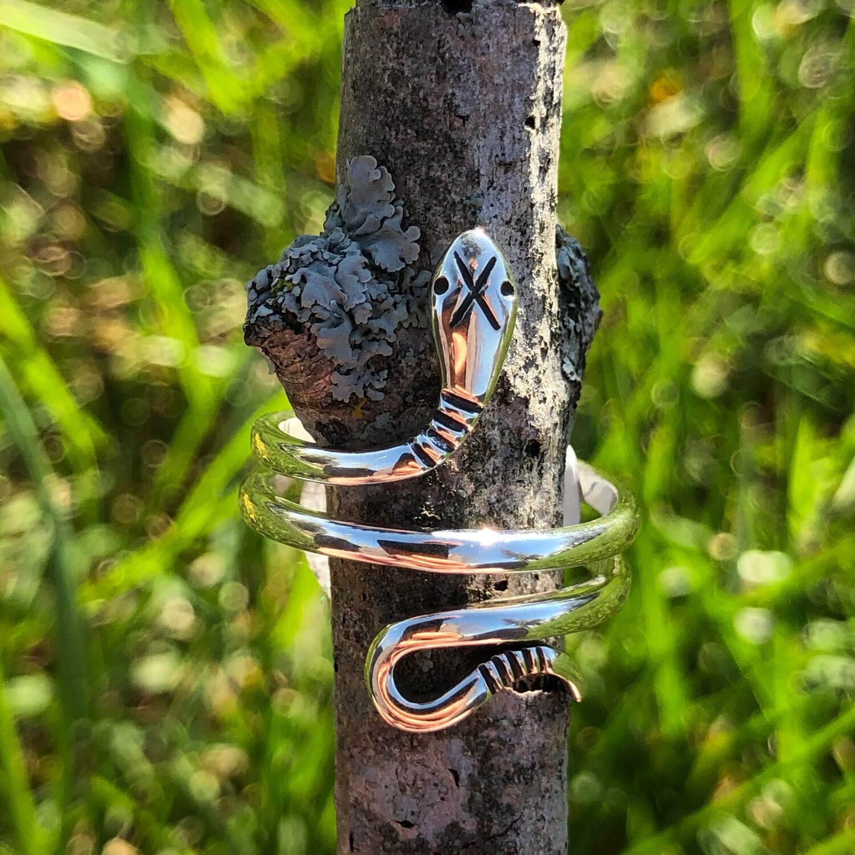 Sterling Snake Ring