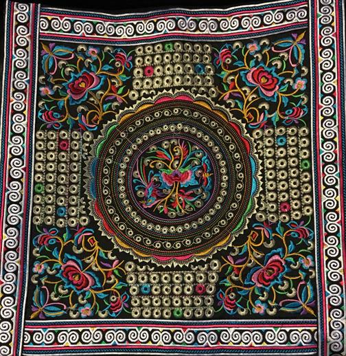 Floral & Circles Pillow Case