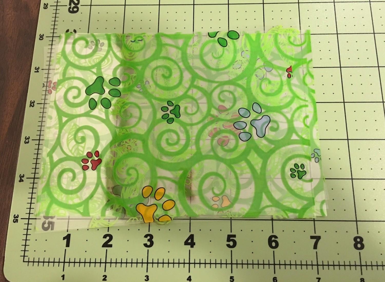 Floraphane™/ Cello / Mylar for rolling  Henna Cones
