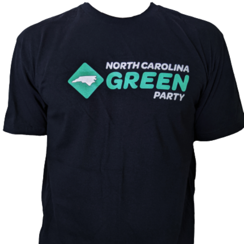 Black Shirt with State Party Logo